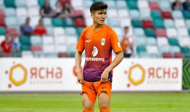 Жасур Яхшибоев, фото ФК Динамо Киев