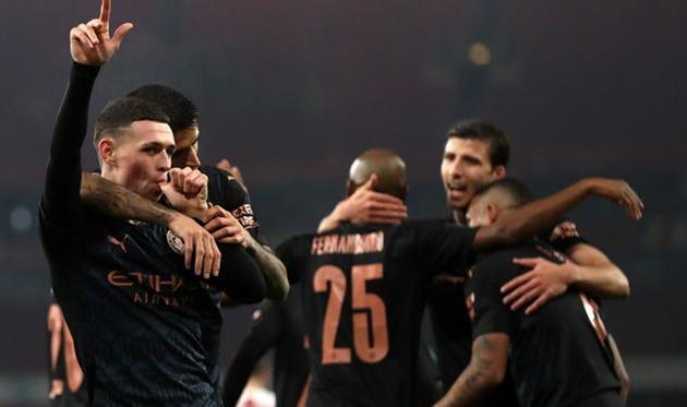 Арсенал — Манчестер Сити, Getty Images