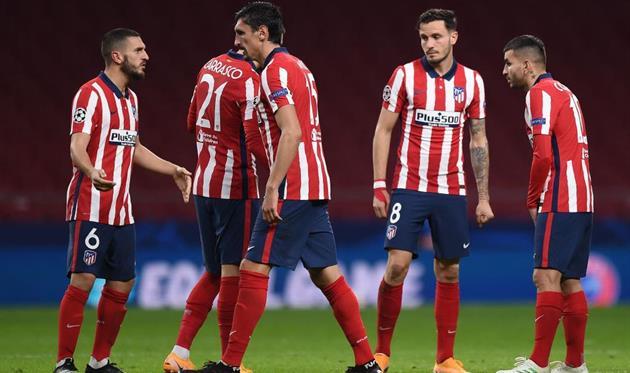 Футболисты Атлетико, Getty Images