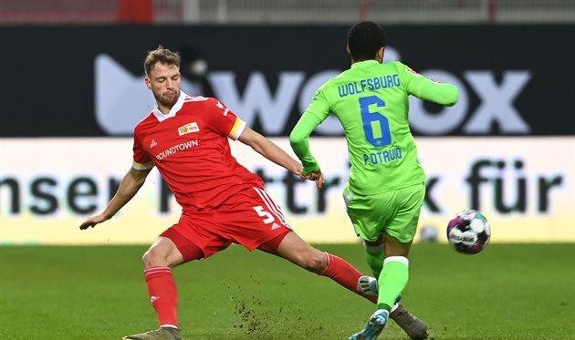 Унион и Вольфсбург сыграли в результативную ничью