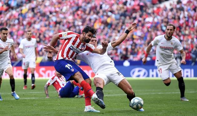 Матч Атлетико - Севилья, Getty Images
