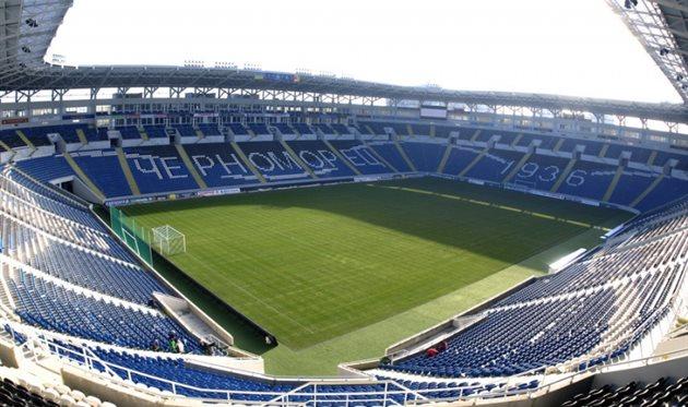 Стадион Черноморец, фото Черноморец