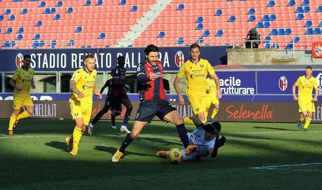 Матч Болонья - Верона, Getty Images