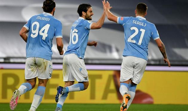 Лацио с трудом обыграл Парму и пробился в 1/4 Кубка Италии