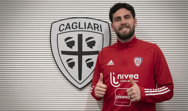 Артуро Калабрези, фото ФК Кальяри