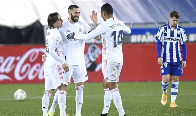 Алавес — Реал Мадрид, Getty Images