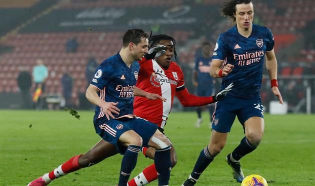 Матч Саутгемптон - Арсенал, Getty Images