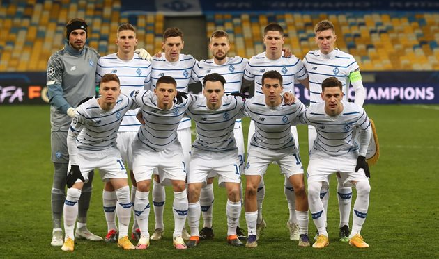 Футболисты Динамо, Getty Images
