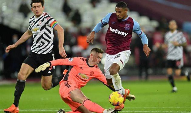 Матч Вест Хэм - Манчестер Юнайтед, Getty Images