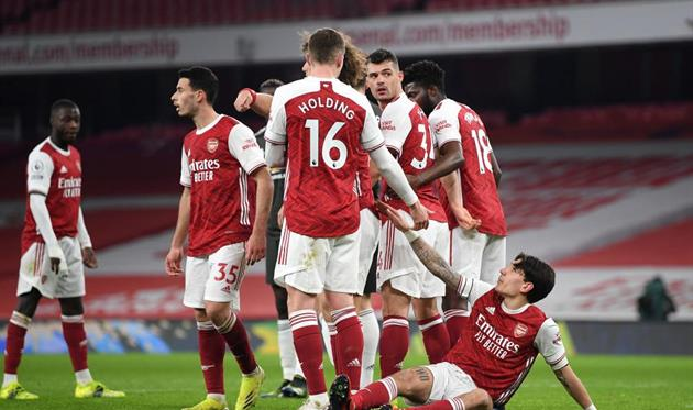 Футболисты Арсенала, Getty Images