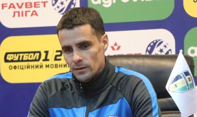 Николай Цимбал, фото ФК Александрия