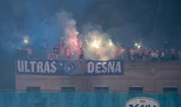 Ультрас Десны напали на стюардов матча с Динамо