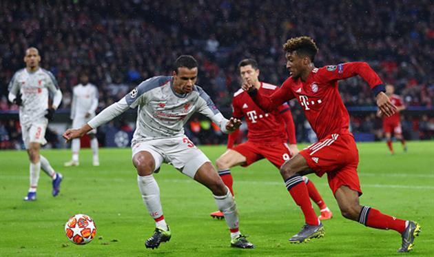Бавария - Ливерпуль (матч 2019 года), Getty Images