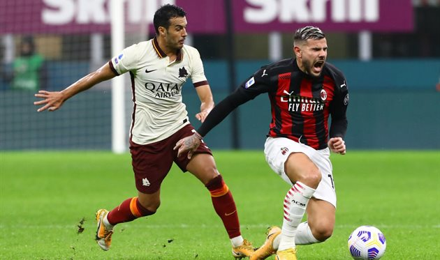 Рома — Милан, getty images