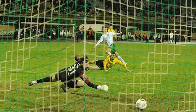 Дебютный гол Оливье Тилля, фото ФК Ворскла Полтава