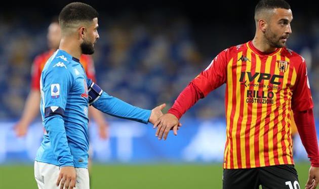 Братья Инсинье в матче Наполи — Беневенто, Getty Images