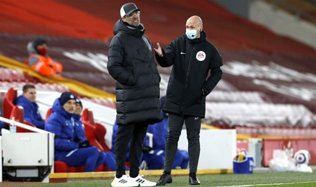 Юрген Клопп в матче против Челси, Getty Images