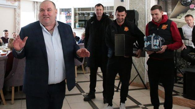 Александр Поворознюк, фото ФК Ингулец Петрово