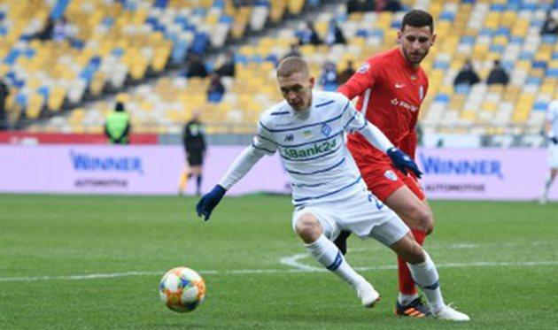 Виталий Буяльский (слева), ФК Динамо Киев
