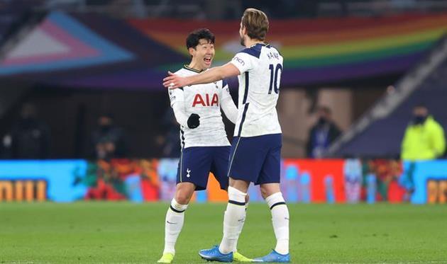 Сон Хын Мин (слева) и Харри Кейн, Getty Images