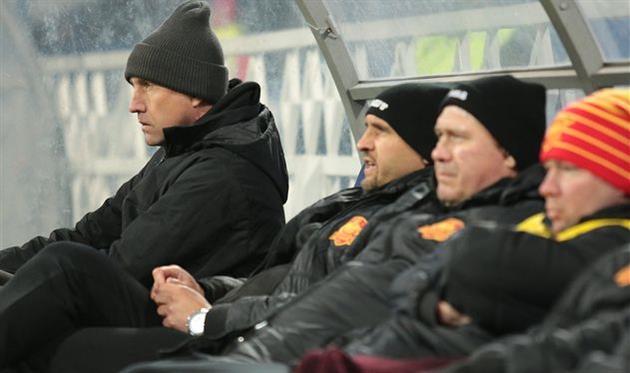 Сергей Лавриненко (крайний слева), фото ФК Ингулец Петрово