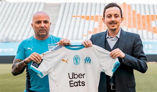Хорхе Сампаоли и Пабло Лонгория, фото ФК Марсель