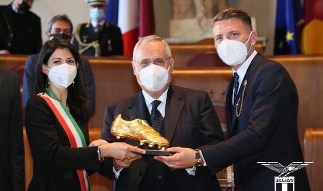 Чиро Иммобиле, фото ФК Лацио