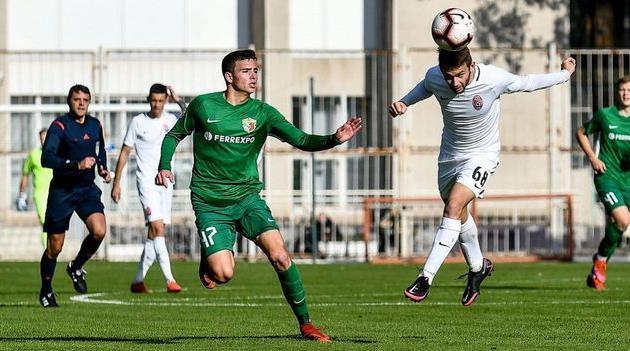 Илья Гаджук (слева), фото ФК Ворскла Полтава