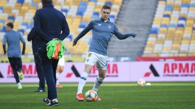 Виктор Цыганков, фото ФК Динамо Киев