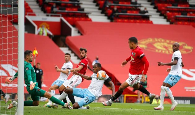 Манчестер Юнайтед — Вест Хэм, getty images