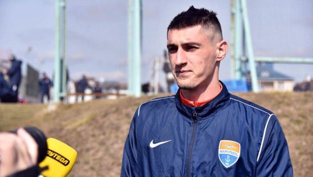 Даниил Сагуткин, фото ФК Мариуполь