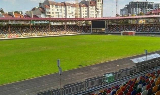 Тернопольский стадион, скриншот