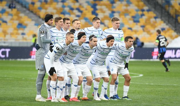 Футболисты Динамо, фото Динамо Киев