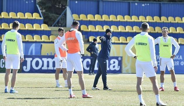Тренировка сборной Украины, фото УАФ