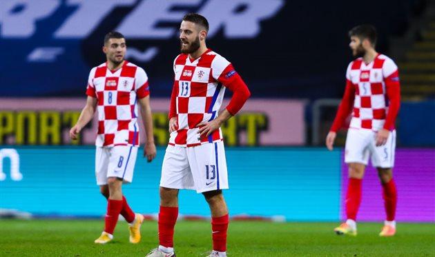 Игроки сборной Хорватии, getty images