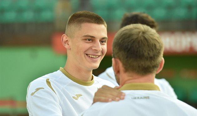 Виталий Миколенко, сборная Украины