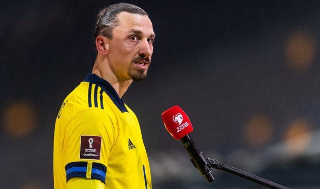 Златан Ибрагимович, фото: twitter.com/svenskfotboll