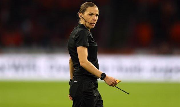 Стефани Фраппар в матче Нидерланды — Латвия, Getty Images