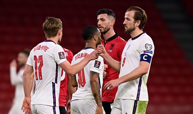Албания – Англия 0:2 Видео голов и обзор матча