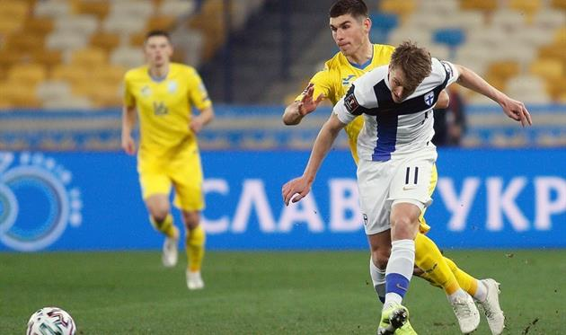 Видео голов матча Украина - Финляндия, фото УАФ