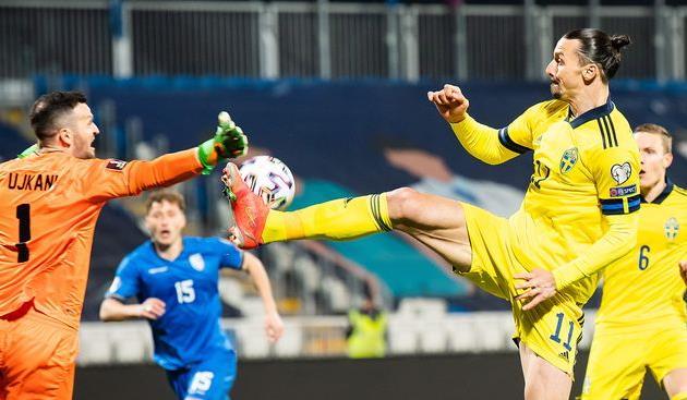 Косово — Швеция, twitter.com/svenskfotboll