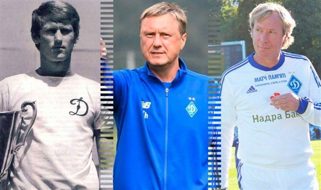 Лучшие в истории: полузащитники Динамо Киев
