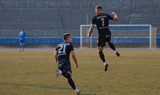 Михаил Сергийчук (справа), НК Верес