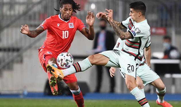 Родригес открыл счет в матче против Португалии