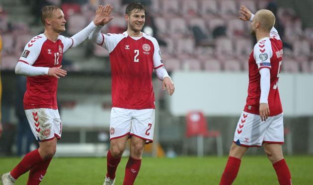 Футболисты сборной Дании, getty images