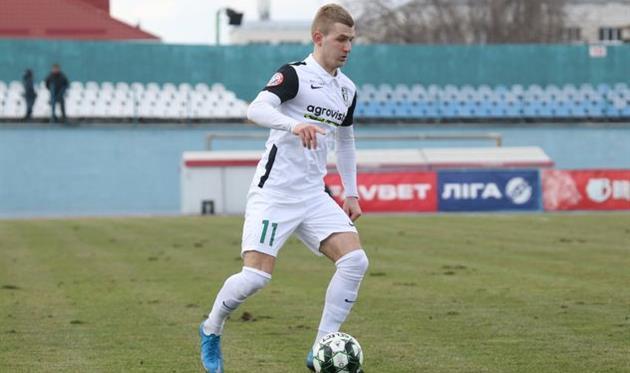 Денис Мирошниченко, фото ФК Александрия