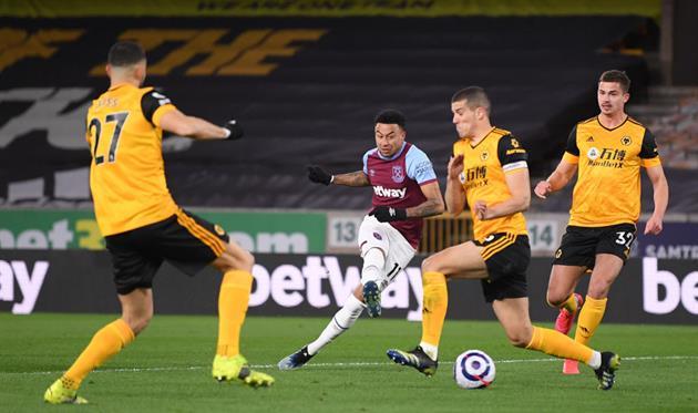 Wolverhampton - West Ham, Getty Images