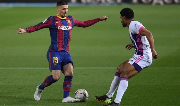 Клеман Ленгле в матче против Вальядолида, Getty Images
