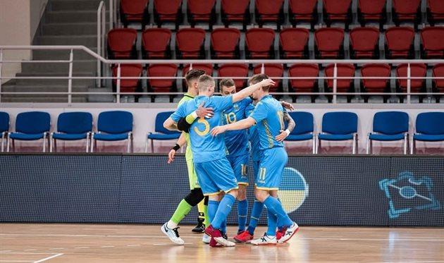 Футзал. Дания — Украина 2:6 Обзор матча