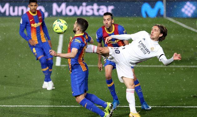 Реал — Барселона: видео голов, Getty images